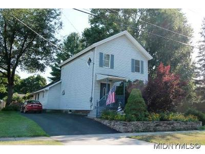 Herkimer County Single Family Home For Sale: 7 West Montgomery