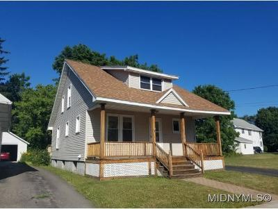 Utica Single Family Home For Sale: 110 Richardson Ave
