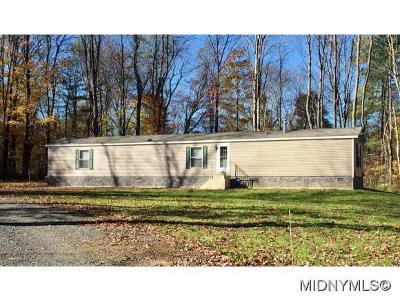 Remsen NY Single Family Home For Sale: $89,000