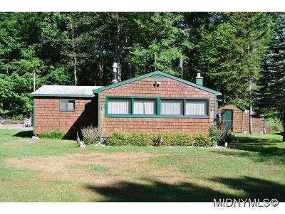 Forestport NY Single Family Home For Sale: $84,900