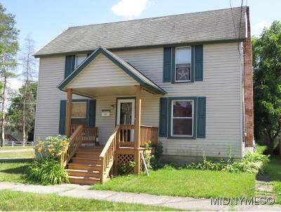 Herkimer County Single Family Home For Sale: 1 Marion St.