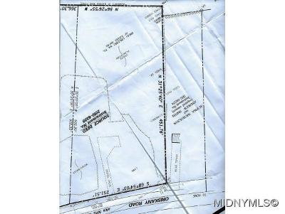 Rome Residential Lots & Land For Sale: 7424 Oriskany Road