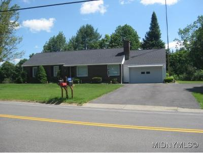 Herkimer County Single Family Home For Sale: 3045 St Rt 29