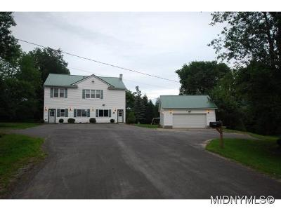 Herkimer County Single Family Home For Sale: 192 Casler Rd Ext