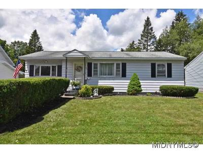 Oneida County Single Family Home For Sale: 433 Van Dyke Road