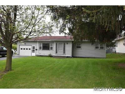Oneida County Single Family Home For Sale: 1013 Culver Avenue