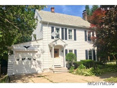 Utica Single Family Home For Sale: 51 Van Vorst St