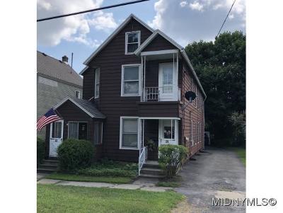 Whitesboro Multi Family Home For Sale: 25 Westmoreland St