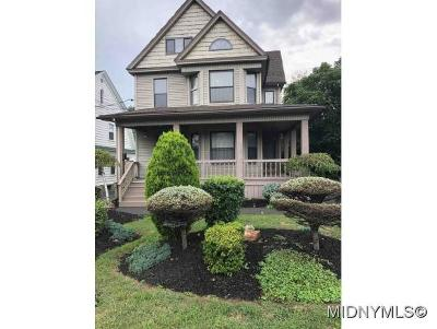 Utica Single Family Home For Sale: 2520 Genesee Street