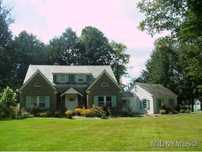 Rome Single Family Home For Sale: 7909 Turin Rd.