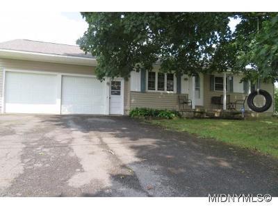 Rome Single Family Home For Sale: 343 Glen Road N
