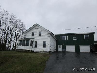 Herkimer County Single Family Home For Sale: 125 Grant Rd.