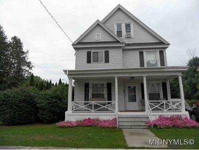 Herkimer County Single Family Home For Sale: 20 Gordon Place