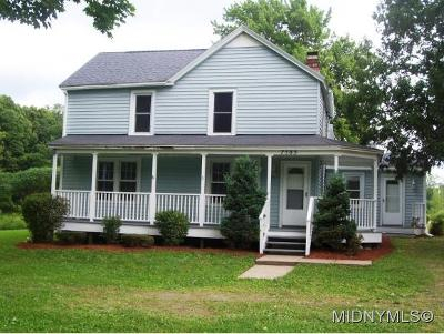 Oneida County Single Family Home For Sale: 7585 Watson Hollow Rd.