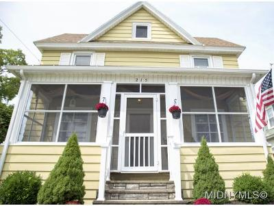 Herkimer County Single Family Home For Sale: 215 Suiter