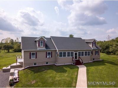 Herkimer, Ilion, Little Falls, Mohawk, Schuyler Single Family Home For Sale: 499 Yule Corners Road