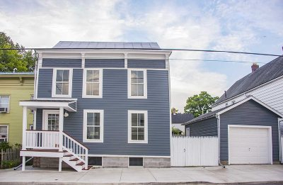 Hudson Single Family Home For Sale: 66 N Third St.