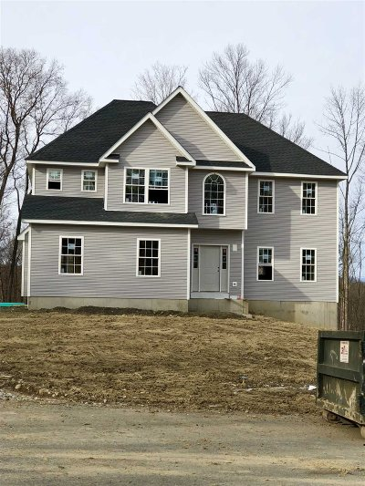 Hyde Park Single Family Home For Sale: Lot 3 Pond View Ct