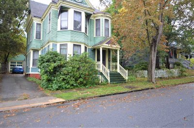 Poughkeepsie City Single Family Home New: 5 Garfield Place