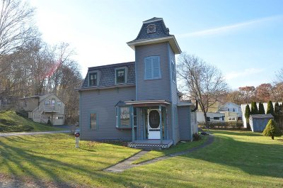 Rhinebeck Single Family Home For Sale: 3 Kelly St