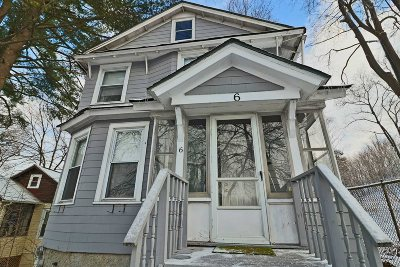 Poughkeepsie City Single Family Home For Sale: 6 Reservoir St