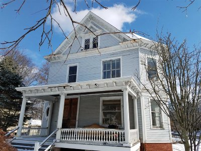 Poughkeepsie City Single Family Home Extended: 39 Virginia Ave