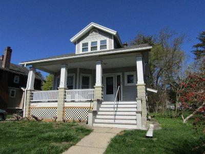 Poughkeepsie City Single Family Home Price Change: 62 S Randolph Ave