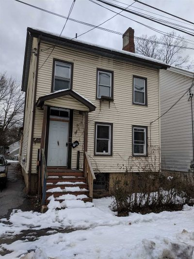 Poughkeepsie City NY Multi Family Home For Sale: $59,900