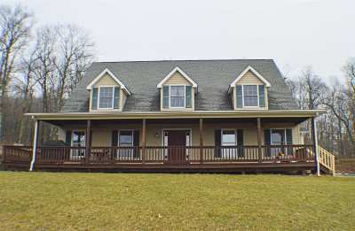 Esopus Single Family Home New: 842 Old Post Rd