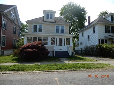 Poughkeepsie City Single Family Home Extended: 39 S Randolph Ave