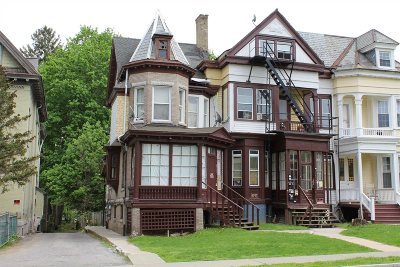 Poughkeepsie City Multi Family Home Price Change: 44 S Hamilton