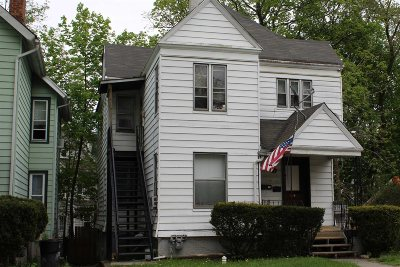 Poughkeepsie City Multi Family Home Price Change: 14 Hooker Ave