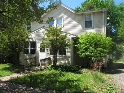 Poughkeepsie City Multi Family Home For Sale: 80 Carroll St