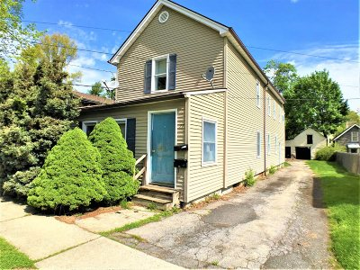 Poughkeepsie City NY Multi Family Home For Sale: $60,000