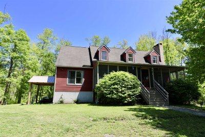 Fishkill Single Family Home Price Change: 280 Baxtertown Road