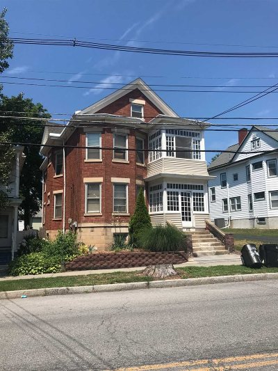 Poughkeepsie City Multi Family Home For Sale: 106 South Ave
