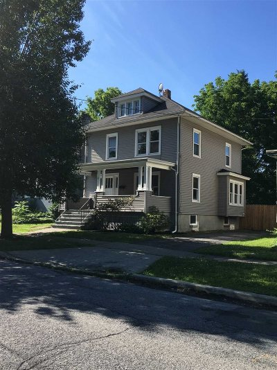 Poughkeepsie City Single Family Home Price Change: 16 Grubb St