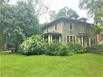 Poughkeepsie City Single Family Home Price Change: 14 Crescent Rd