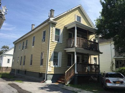 Poughkeepsie City Multi Family Home For Sale: 3 Gray St