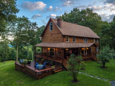 Amenia Single Family Home New: 530 Cascade Mountain