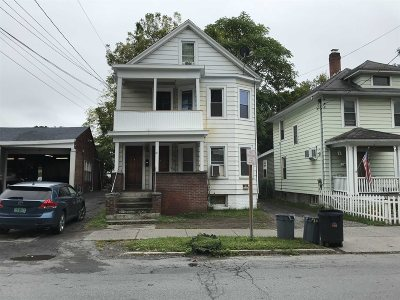 Poughkeepsie City Multi Family Home For Sale: 36 N. White St.