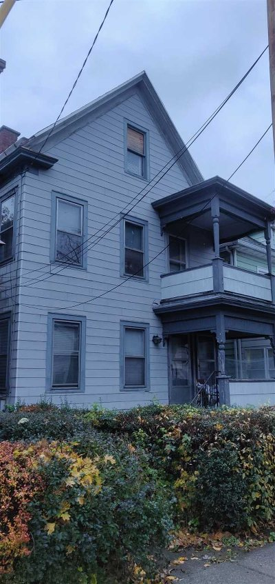 Poughkeepsie City Multi Family Home Continue Showing: 80 N Hamilton