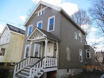 Poughkeepsie City Single Family Home For Sale: 338 Mansion Street