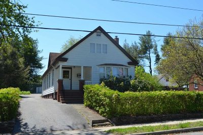 Poughkeepsie City NY Single Family Home For Sale: $232,500