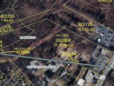 Rhinebeck Residential Lots & Land For Sale: 6595 Route 9