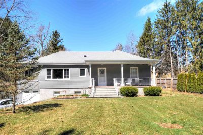 Rhinebeck Single Family Home For Sale: 313 Sepasco Lake Road