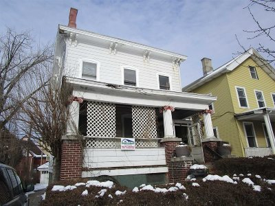 Poughkeepsie City Multi Family Home For Sale: 52 Montgomery St