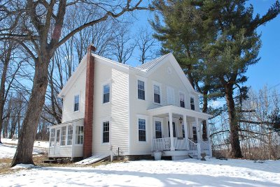 Rhinebeck Single Family Home For Sale: 4 Stone Church Road