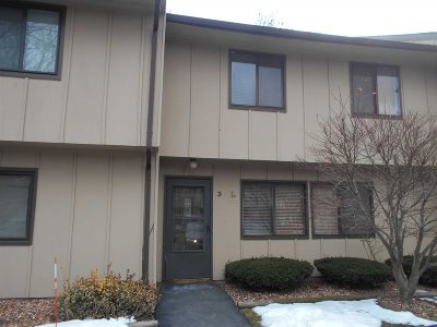 Poughkeepsie City Condo/Townhouse For Sale: 3 Hudson Heights Dr