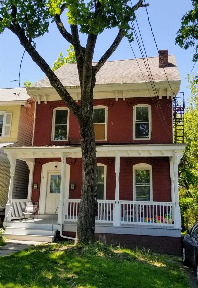 Poughkeepsie City Multi Family Home For Sale: 66 Delafield St